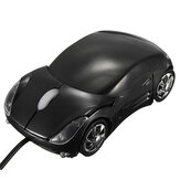 3D Optical Car Shape USB Wired Mouse